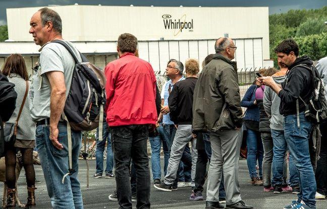 Amiens: L'inspection du travail refuse le licenciement de 25 salariés de l'usine Whirlpool