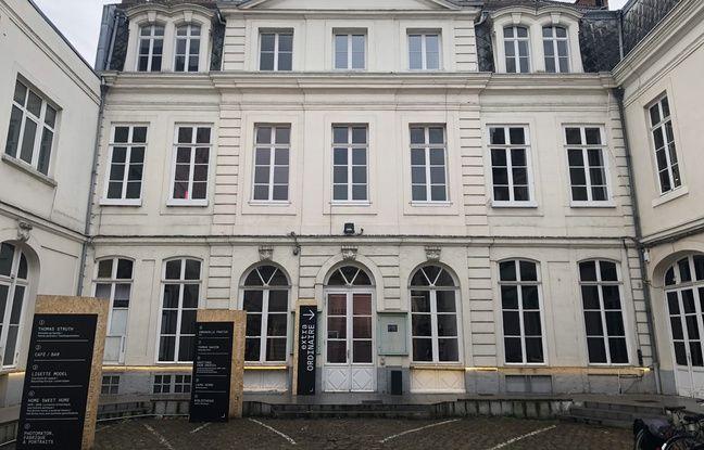 Lille, le 11 décembre 2019. L'Institut pour la photographie a ouvert ses portes depuis le 11 octobre 2019 dans cet hôtel particulier du Vieux-Lille.