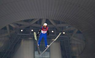 Maxime Laheurte est 10e et 1er Français, après l'épreuve de saut à ski du combiné nordique.
