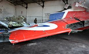 Les restes du crash du vol Yemenia en 2009.