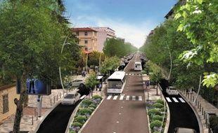 Le chantier de la ligne 1 coûte 44 milions, financé par l'Etat et les collectivités.