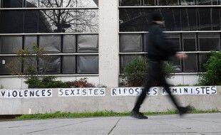 Un collage féministe ici à Rennes. (archives)