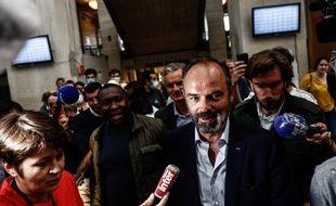 Edouard Philippe lors de la soirée électorale du second tour des municipales, au Havre, le 28 juin.