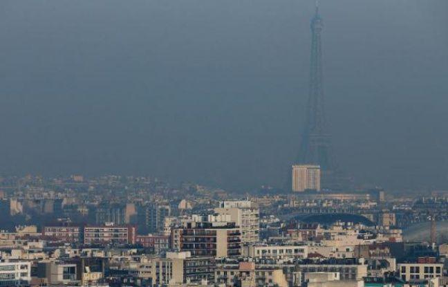 L Ile De France Touch 233 E Par Un Important 233 Pisode De Pollution