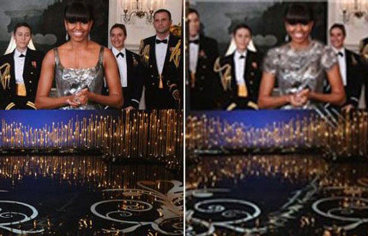 Michelle Obama lors de la cérémonie des Oscars – AFP/Fars