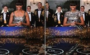 Michelle Obama lors de la cérémonie des Oscars