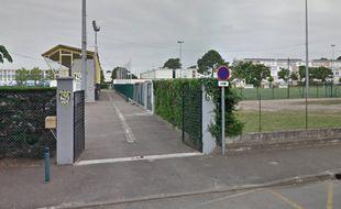 Brandon Moenza a inscrit ce but au stade Municipal de l'Argenté à Mont-de-Marsan.