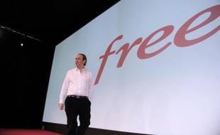 Xavier Niel, fondateur de Free, le 10 mars 2015 à Paris