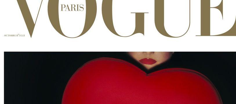 La couverture du numéro spécial 100 ans de « Vogue Paris ».