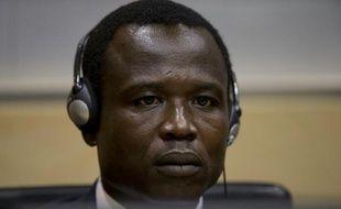 Le commandant ougandais Dominic Ongwen, membre des milices de Joseph Kony, le 26 janvier 2015 devant la CPI à La Haye