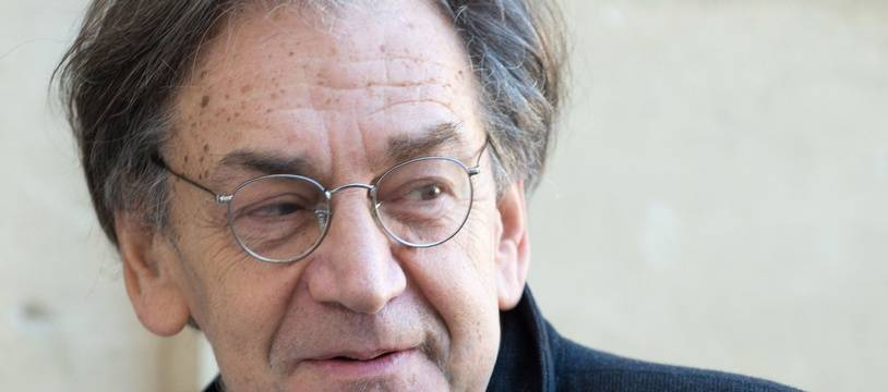 Alain Finkielkraut à Matignon, le 25 janvier 2016.