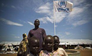 A Juba, auSoudan duSud, 1.600 «retournés» survivent dans un camp de transit.