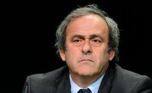 Michel Platini le 28 mai 2015 à Zurich