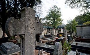 Le cimetière Montmartre, à Paris, en 2014.