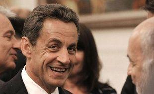 Nicolas Sarkozy à Pékin (Chine), le 25 août 2011.