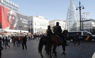 La Puerta del Sol, à Madrid.