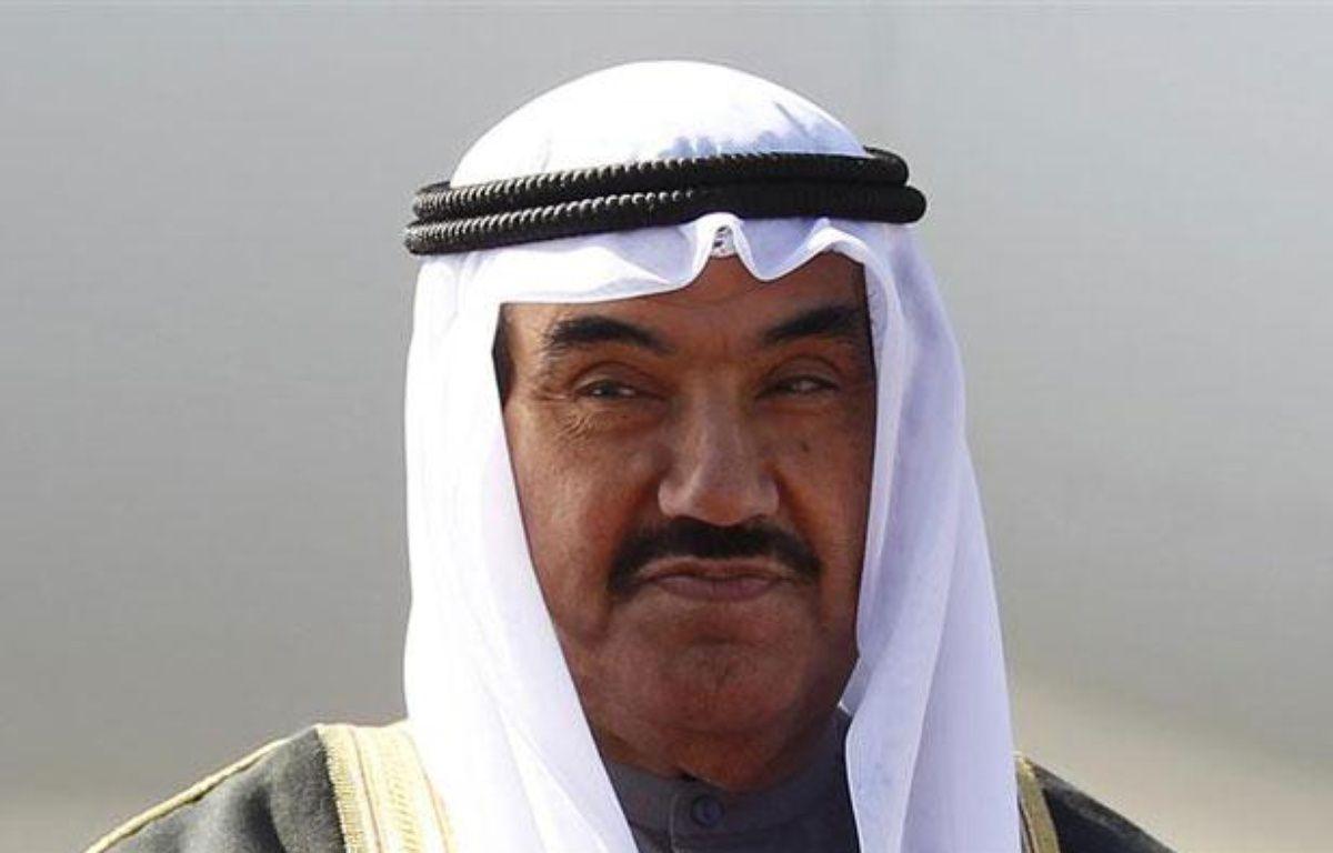 Le Premier ministre du Koweit, Nasser al Mohammad al Sabah, le 25 septembre 2011. – REUTERS/Chris Wattie