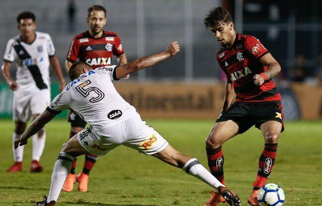 Ici en mai 2018, Lucas Paqueta s'est surtout distingué par son sens du dribble durant ses années à Flamengo.