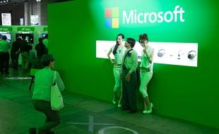 Le stand Xbox One au Tokyo Game Show, le 18 septembre 2014.