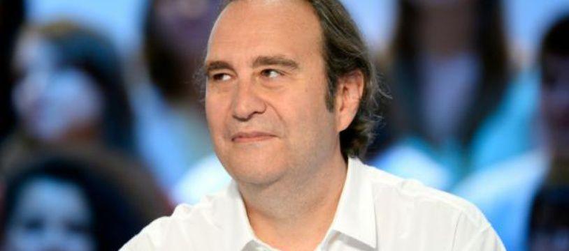 Xavier Niel, patron de l'opérateur Free, lors d'une émission de télévision sur la chaîne Canal +, le 25 juin 2015