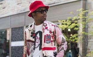 Le photographe de streetstyle Nabile Quenum, ici à la Fashion Week de Tokyo en 2015, est mort à l'âge de 32 ans