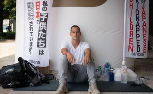 Le Français Vincent Fichot a entamé une grève de la faim le 10 juillet dernier à Tokyo.