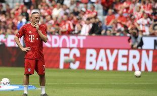 Franck Ribéry est en litige avec son ancien agent au sujet de son transfert à Munich.