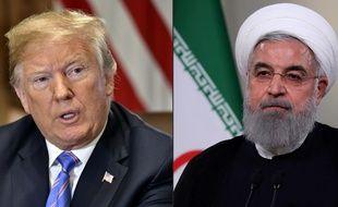 Les relations dipliomatiques entre Donald Trump et le président iranien Hassan Rohani sont tendues.