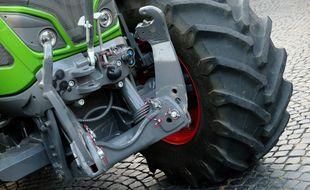 Un tracteur (illustration).