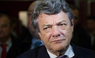 Jean-Louis Borloo, alors président du Parti radical, le 27 novembre 2013 à Paris.