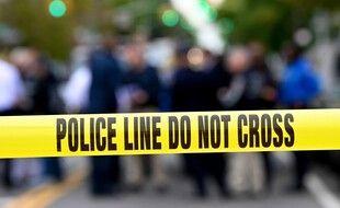 Une ruban jaune de la police américaine (image d'illustration).
