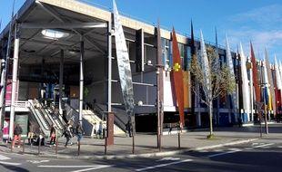 Le centre commercial Beaulieu, sur l'île de Nantes.