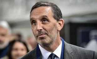 Le nouveau boss des Girondins de Bordeaux, Joe DaGrosa, le 2 décembre 2018 lors de Bordeaux-PSG.