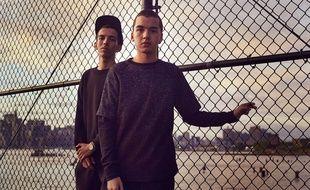Bigflo & Oli, les deux frères rappeurs originaires de Toulouse.