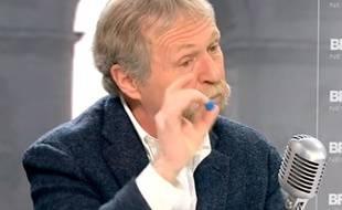 Capture d'écran de l'interview de José Bové sur BFMTV, le 17 mars 2015.