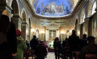 """Confinement: Reprise des offices dans les lieux de culte samedi """"dans la limite de 30 personnes"""" (Archives)"""