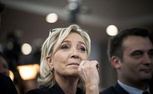 Marine Le Pen, le 2 décembre 2016, Paris.