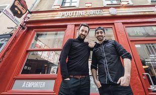 A la tête du restaurant Poutinebros depuis 2015 à Rennes, Nicolas et Camille Gaudin veulent développer un réseau de franchisés.