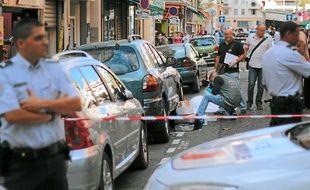 Une partie du butin a été retrouvée en possession de l'homme abattu.