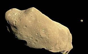 Les astéroïdes conservent intactes des poussières datant de la formation du système solaire. Ici, l'astéroïde Ida et sa lune, Dactyl