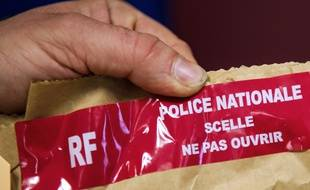 Des scellés de la police (illustration).
