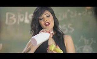 Shyma, chanteuse égyptienne interpellée le 18 novembre 2017 pour un clip jugé obscène.