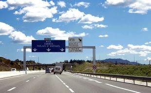 Image d'illustration de l'autoroute A8.