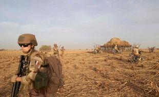 Au total, 5.100 militaires français seront mobilisés d'ici fin février au sein de l'opération Barkhane déployée au Sahel et notamment au nord du Burkina Faso.