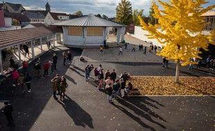 Une école primaire à Bischwiller (Alsace), le 2 novembre 2020. (illustration)