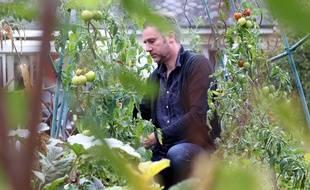 Luc Page a relancé le site lepotiron.fr qui met en relation des jardiniers souhaitant donner ou troquer leur surplus de production.