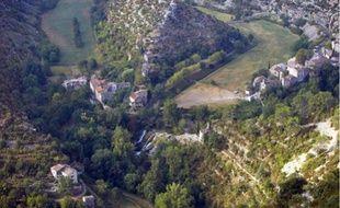 10000 km2 de sondage, notamment dans l'Hérault comme ici, près du cirque de Navacelles.