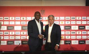 Patrick Vieira est le nouvel entraîneur de l'OGC Nice.