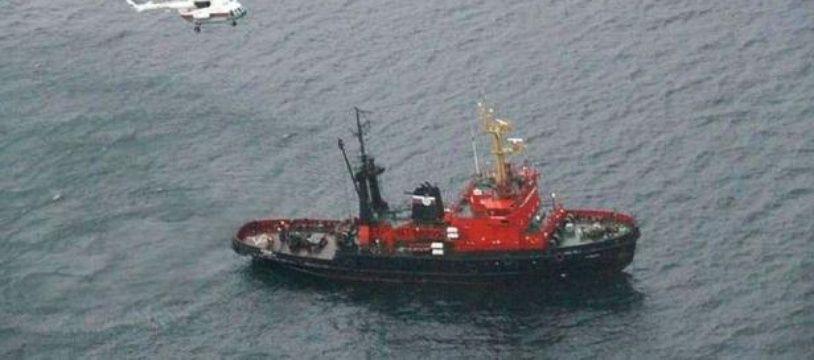 Un bateau de pêche japonais (illustration).
