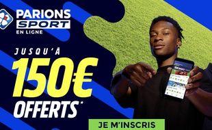 Jusqu'au 13 avril, Parions Sport en Ligne offre 150€ en paris gratuits aux nouveaux inscrits.